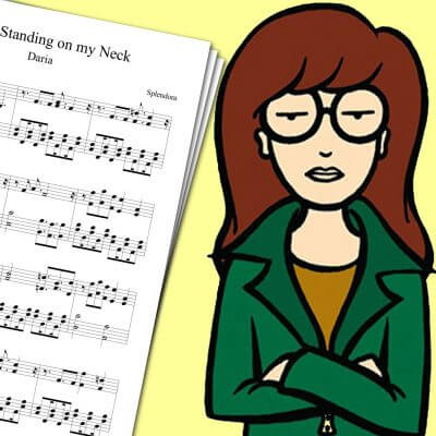 Daria Theme Sheet Music