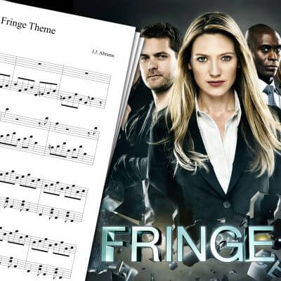 Fringe Theme Sheet Music