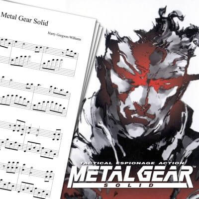 Metal Gear Solid Theme Sheet Music