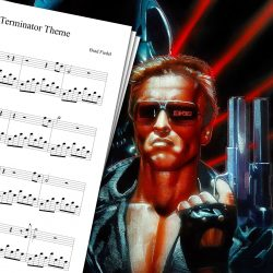 Terminator Theme Sheet Music