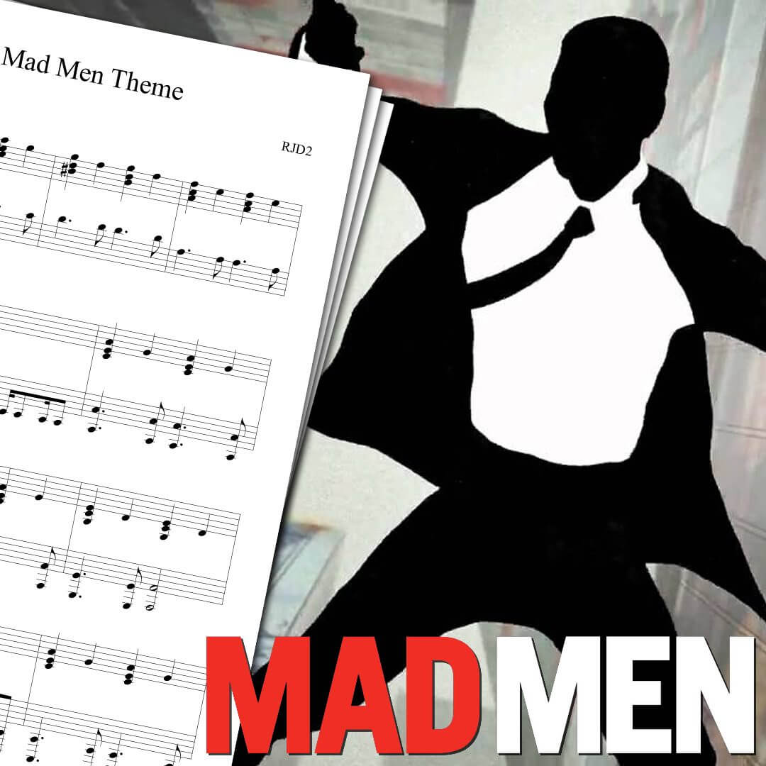 Mad Men Theme Sheet Music - Download & Print piano PDF and Midi