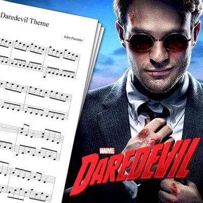 Daredevil Theme Sheet Music