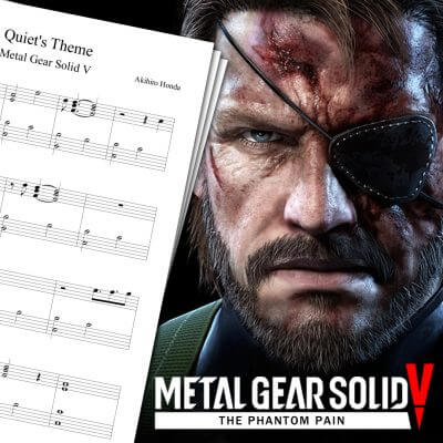 Quiet's Theme Sheet Music