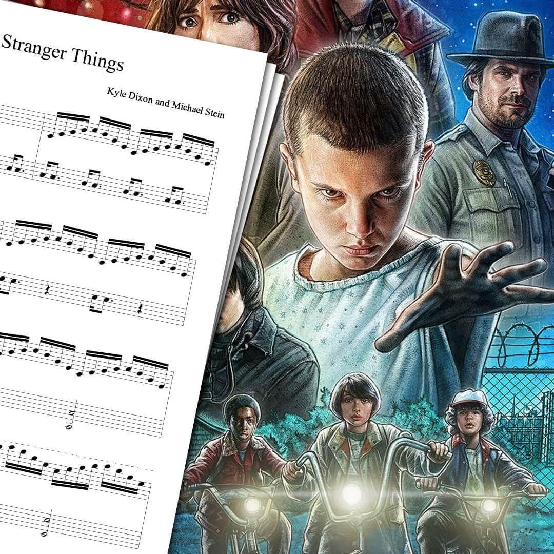 Stranger Things Theme Sheet Music