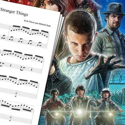 Stranger Things Theme Sheet Music