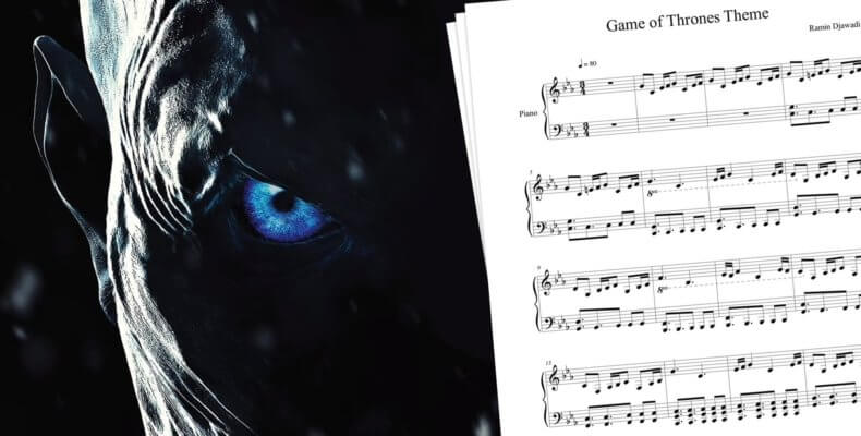 Best Game of Thrones Sheet Music